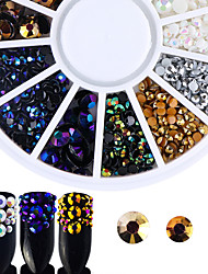 cheap -Rhinestones Nail Jewelry Nail Glitter Fashionable Jewelry Luxury Accessories Fashion High Quality Daily Nail Art Design