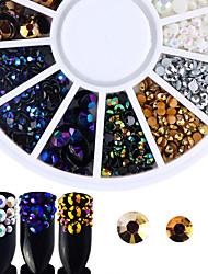 abordables -Bijoux à ongles Nail Glitter Luxe Accessoires Mode Haute qualité Quotidien Nail Art Design