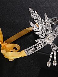 economico -Il grande Gatsby Stile anni '20 Costume Per donna Accessori per capelli Fascia per capelli da ballerina charleston Argento Vintage Cosplay