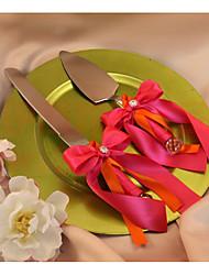 abordables -Métallique Mode Mariage Famille Anniversaire 1 Ensemble de service