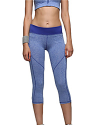 cheap -Yoga Pants Crop 3/4 Tights Leggings Tights Bottoms Quick Dry Breathable Compression Comfortable Natural High Elasticity Sports Wear