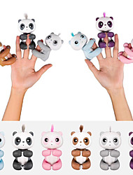cheap -Finger Toy Electronic Pets Rabbit Animals Panda Smart Voice Touch Sensor intelligent New Design Kid's Adults' Gift 1pcs