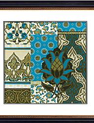 economico -Ad olio Decorazioni da parete,Polistirolo Materiale con cornice For Decorazioni per la casa Cornice Salotto Interno