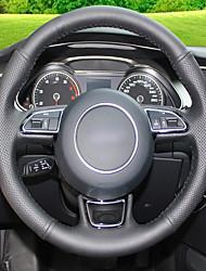 Недорогие -автомобильные крышки рулевого колеса (кожа) для модели audi a5 strip