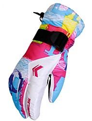 preiswerte -Damen Vollfinger warm halten Windundurchlässig Langlebig Skifest PU Poly /  Baumwollmischung Camping & Wandern Skifahren Radsport /