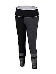 abordables -Femme Pantalons de Course Respirabilité Pantalon / Surpantalon Course / Running Polyester, Spandex Noir S / M / L