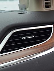 Недорогие -автомобильные кондиционеры вентиляционные крышки DIY автомобильные интерьеры для lincoln все годы mkc prado stailess steel