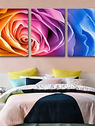 abordables -Toile Rustique Moderne, Trois Panneaux Toile Format Vertical Imprimé Décoration murale Décoration d'intérieur
