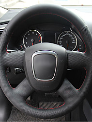 Недорогие -автомобильные крышки рулевого колеса (кожа) для аудио-функции a4l старого стиля
