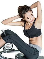 abordables -Cremallera delantera Sujetadores de Deporte Acolchado Sujeción Ligera Para Yoga - Naranja / Morado / Fucsia Transpirabilidad, Reductor del Sudor Mujer Poliéster