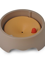 cheap -L Cat Dog Feeders Pet Bowls & Feeding Case Included Gray