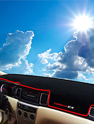 abordables -Automobile Matrice de tableau de bord Tapis Intérieur de Voiture Pour Honda 2008 2009 2010 2011 Corolla