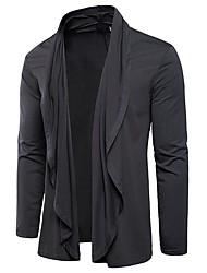 abordables -Tee-shirt Homme, Couleur Pleine Sports Coton