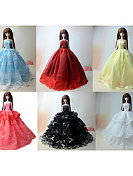 cheap -Princess Dresses For Barbie Doll For Girl's Doll Toy