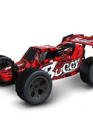 baratos -Carro com CR Canal 4 2.4G Rock Climbing Car 1:20 25 km/h KM / H