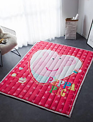 cheap -Creative Modern Poly/Cotton, Superior Quality Rectangular Anime Rug