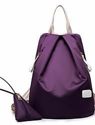 cheap -Women Bags Nylon Sports & Leisure Bag Zipper for Casual All Season Wine Fuchsia Purple Dark Blue Black