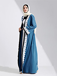 cheap -Cosplay Arabian Dress Women's Festival / Holiday Halloween Costumes Blue Solid Colored