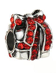 cheap -DIY Jewelry 10 pcs Beads Rhinestone Alloy White Red Blue Irregular Bead 0.45 cm DIY Necklace Bracelet