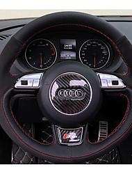 economico -Coprivolanti per automobili (pelle) per audi tutto l'anno a1 q5 q7 q3 a3 a4l a6l