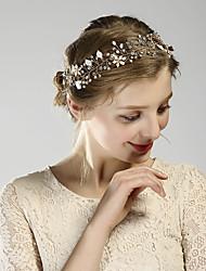 abordables -Alliage Cristal Perle fausse 1 article Mariage Occasion spéciale Casque