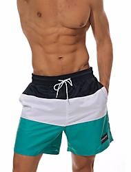 cheap Men's Swimwear-Men's Sporty Bottoms - Color Block Swim Trunk