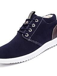 baratos -sapatos Cashmere Primavera Outono Conforto Tênis para Casual Preto Amarelo Azul