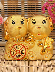 cheap -Holiday Vintage Theme Ceramics Artistic/Retro,Coin Banks Decorative Accessories