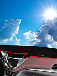 Недорогие -автомобильный Маска для приборной панели Коврики на приборную панель Назначение Chevrolet 2016 2017 Malibu