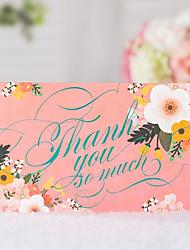 Недорогие -Сложенные Свадебные приглашения 20 - Спасибо карты Классический Тиснённая бумага Узоры / принт