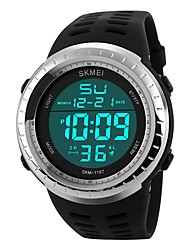 cheap -SKMEI Men's Digital Sport Watch Chinese Calendar / date / day Chronograph Water Resistant / Water Proof Casual Watch Noctilucent PU Band