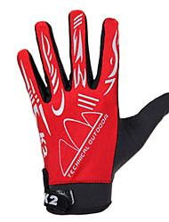 cheap -KORAMAN Sports Gloves Bike Gloves / Cycling Gloves Breathable / Anti-skidding Full finger Gloves Spandex Cycling / Bike Men's / Women's / Unisex