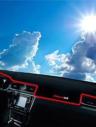 abordables -Automotor Estera del tablero de instrumentos Esterillas de interior para coche Para Volkswagen 2016 2017 Passat