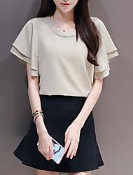 preiswerte -Damen T-shirt - Solide Rock