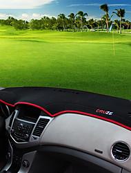 Недорогие -автомобильный Маска для приборной панели Коврики на приборную панель Назначение Chevrolet Все года Cruze