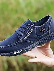 economico -Da uomo Scarpe Denim Primavera Autunno Comoda Sneakers per Grigio Blu