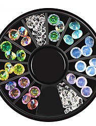 cheap -1 Ornaments Rhinestone Fashion Cute Multi-shade Lovely High Quality Daily Nail Art Design