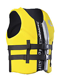 cheap -HISEA® Life Jacket Lightweight Materials Neoprene Swimming / Diving / Snorkeling Top for Adults