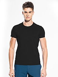 cheap -Snowwolf® Men's Hiking T-shirt Outdoor Boyfriend Gift Football Fitness Super Slim T-shirt Invisible Casual