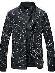cheap -Men's Simple Plus Size Jacket-Creative Stand