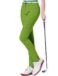 cheap -Women's Golf Pants / Trousers Fast Dry Windproof Wearable Breathability Golf Outdoor Exercise