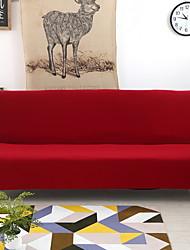 Недорогие -Накидка на диван для двоих Однотонный Пигментная печать Спандекс Чехол с функцией перевода в режим сна