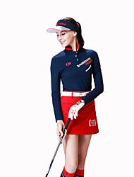 cheap -Women's Golf Skirt Fast Dry Windproof Wearable Breathability Golf Outdoor Exercise
