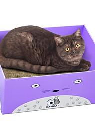 baratos -Gatos Gato Camas Desenho Artístico Papel e Artesanato de Papel Animais de Estimação Cestos Sólido Treinador Alivia Estresse Dobrável Roxo