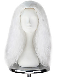 abordables -Pelucas Lolita Lolita Blanco Princesa Peluca de Lolita  55cm CM Pelucas de Cosplay Halloween Pelucas Para