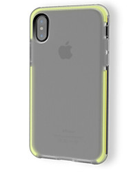 cheap -Case For Apple iPhone X Shockproof Translucent Solid Color Soft for