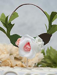 abordables -Décorations de Gâteaux Thème floral nouveau Fait à la Main Mariage Anniversaire avec Fleur 1 O-phénylphénol