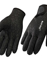 cheap -Fishing Gloves Sports Gloves Diving Gloves Neoprene Nylon Full-finger Gloves Keep Warm Windproof Wearproof Snowproof Anti-skidding