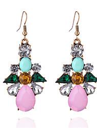 abordables -Femme Opale Boucles d'oreille goutte - Cristal, Opale Goutte Doux, Mode Rose Pour Soirée / Sortie