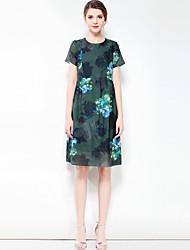 cheap -Mary Yan & Yu Women's Vintage Casual Basic A Line Dress - Floral